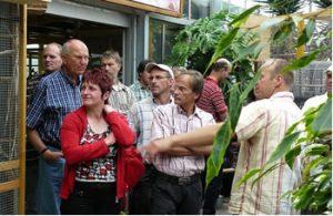 Betriebsbesichtigung bei Weissers-Floraparadies